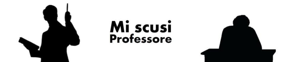 Supremazia Mi scusi Professore Clarice Agostini Rubrica Giovani Reporter
